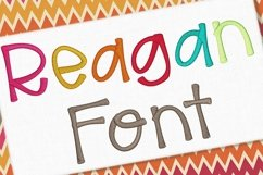 Reagan Embroidery Font 1435 Product Image 1
