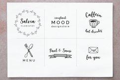 Elderflower script  logos Product Image 6