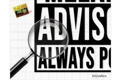 Melanin SVG, Melanin Advisory Always Poppin SVG Product Image 2