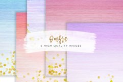 watercolour ombre paper, Printable, Pastel and Gold, Watercolor Wood paper, Ombre Watercolor Digital Paper, 12x12, instant download  Product Image 1