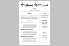 Creative resume template / CV Product Image 1