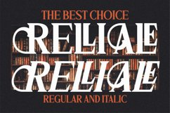 RELLIALE - Classic Serif Font Product Image 17