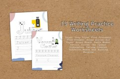Home Appliances 2 Educational Writing Practice Worksheet Product Image 3