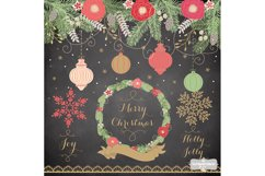 Vintage color christmas design Product Image 2