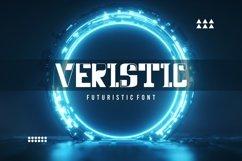 Veristic - Sci Fi Futuristic Font Product Image 1