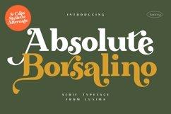 Absolute Borsalino - Serif Font Product Image 1
