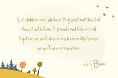 Dear Sunday Kidss Display Font Product Image 2