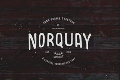 Norquay - Hand Drawn Font Product Image 1