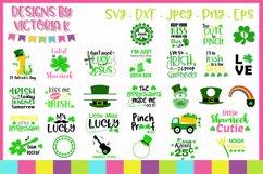 St Patrick's Day svg bundle, 30 Designs, SVG cut files Product Image 1