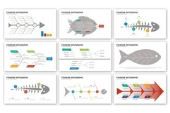 Fishbone Presentation - Infographic Template Product Image 2