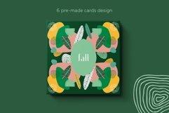 Seasonarium. Abstract botanical pattern and graphic set. Product Image 6