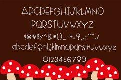 Little red riding hood Handwritten- cute kid font Kawaii Product Image 5