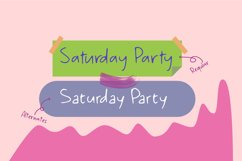 Saturday Party Product Image 2