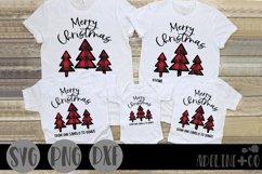Christmas family shirt bundle, SVG, PNG, DXF Product Image 4