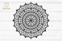 Mandala Bundle SVG, Yoga Mandala Cutting Files, Indian Round Product Image 3