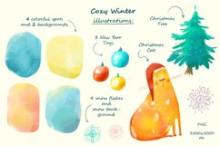 Cozy Winter illustrations Product Image 3