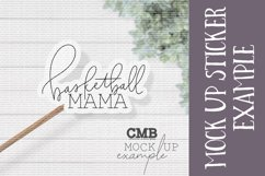Basketball Mama PNG File / Sublimation Clipart File Product Image 2