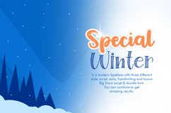 Special Winter 5 Font Product Image 2