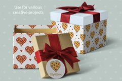 Valentine Love Patterns and Cliparts Product Image 4