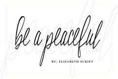 Elisabeth Script Font Product Image 2