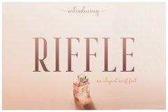 Riffle Font Family Product Image 1