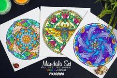 Vector Animals Mandala Set Product Image 1