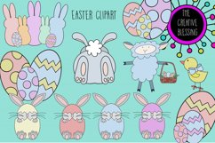 Hand Drawn Easter Clipart Product Image 1