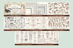 Huge vector flourishes Bundle! More than 500 elements Product Image 5