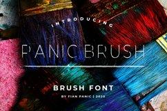 Panic Brush Font Product Image 1