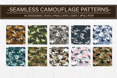 Seamless Camouflage Patterns Bundle Product Image 2