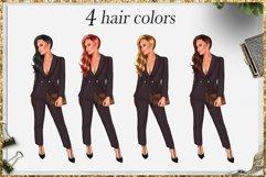 Fashion Girlboss Clipart Product Image 3