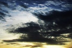 Panorama of the evening sky with sunset Product Image 1
