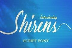 Web Font Shirens Font Product Image 1