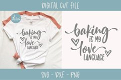 Baking Is My Love Language - SVG Cut File Product Image 1