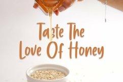 Web Font Honey Moon - Handlettering Font Product Image 2