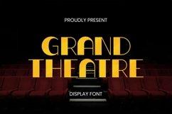 Web Font Grand Theatre Font Product Image 1