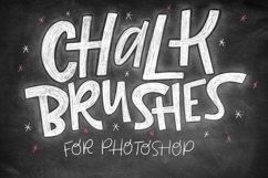 Realistic Photoshop Chalk Brushes! Product Image 1