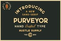 Purveyor - 8 Fonts Included - Font Bundle Product Image 1
