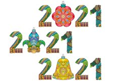 Decorative numbers 2021 Product Image 5