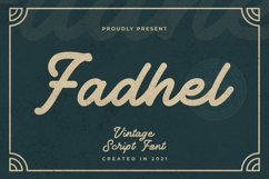 Fadhel Font Product Image 1