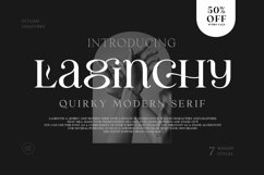 Laginchy - Quirky Serif Product Image 2