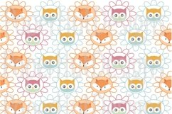 Fox and Owl Digital Papers Product Image 4