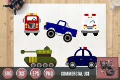 Whimsical Hero Vehicles SVG DXF PNG EPS Comm Product Image 1