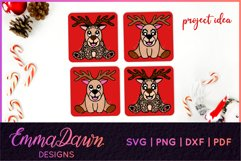 RUFUS THE REINDEER SVG CHRISTMAS MANDALA ZENTANGLE DESIGNS Product Image 7