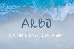 Arbo - handwritten font Product Image 1