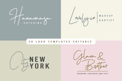 Hellena Jeslyn Signature Font Duo Free Logo Product Image 2