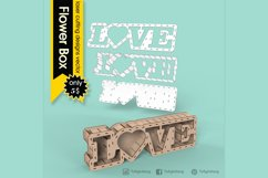 LOVE BOX - laser cut file Product Image 2