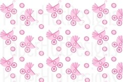 Baby Girl Clipart and Digital Papers Set Product Image 6