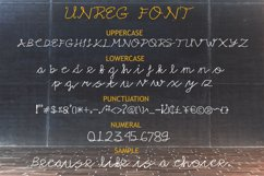 Unreg Display Font Product Image 6
