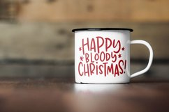 Rude Freaking Holiday Greetings - Christmas and Winter SVGs Product Image 4